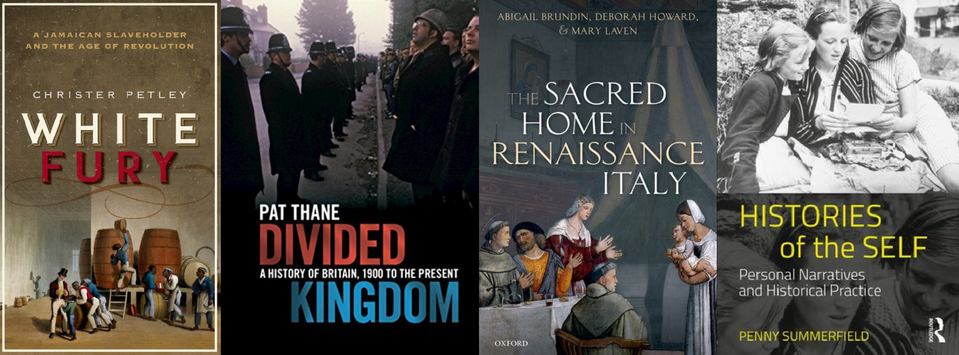 New books in social and cultural history