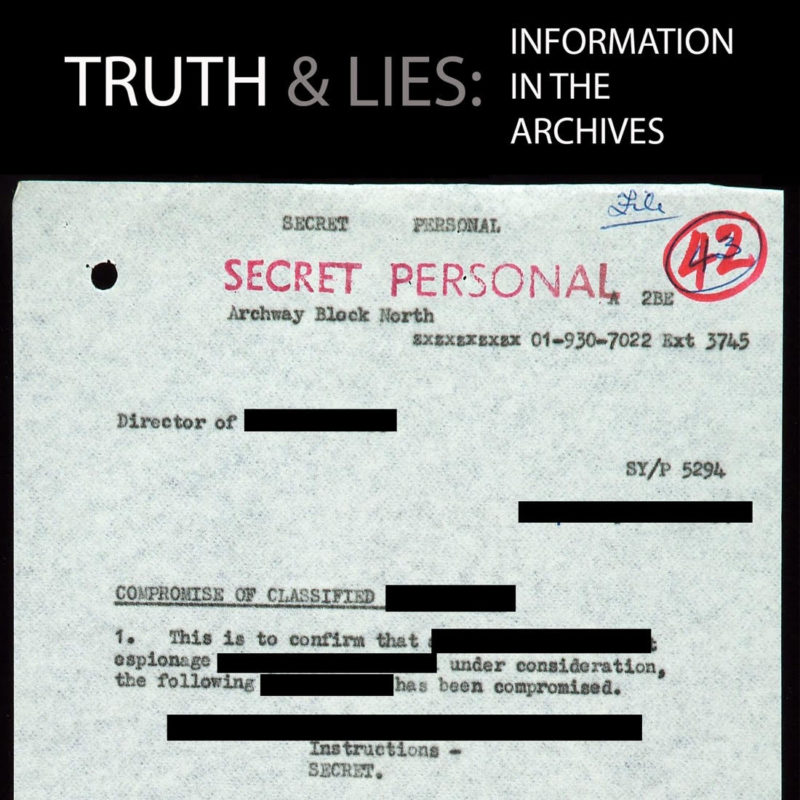 Truth and Lies in the Archives
