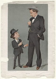 Ben Tillett and John Ward, Vanity Fair 1908