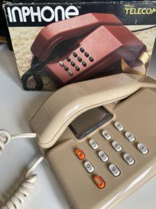 A 1980s telephone